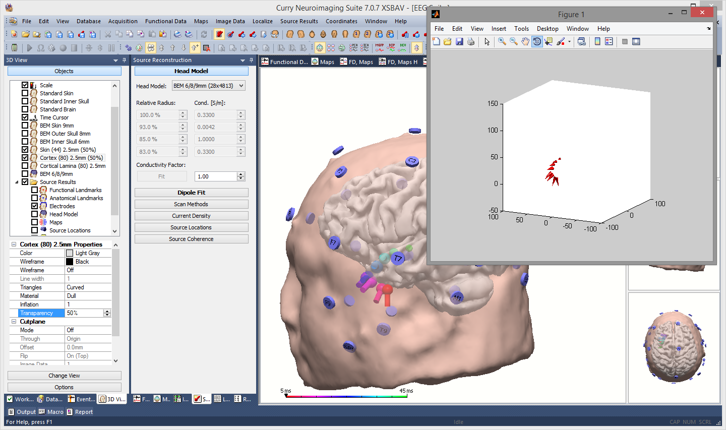 Using Matlab with Curry 7 – Compumedics Neuroscan
